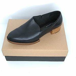 Kelsi Dagger Brooklyn Black Leather Women's Shoes